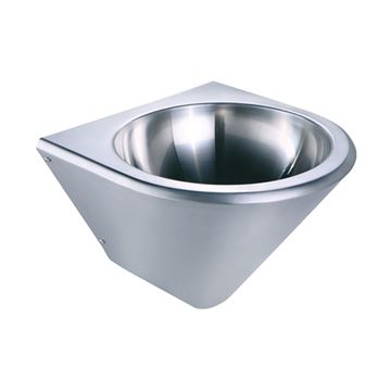 Whitehaus Noah Commercial Tapered Single Bowl Wall Mount Wash Sink