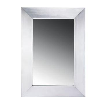 Whitehaus Noah Stainless Steel Commercial Framed Mirror