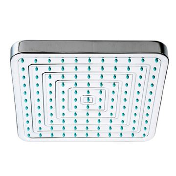 Whitehaus Showerhaus 8 Inch Square Rainfall Shower Head