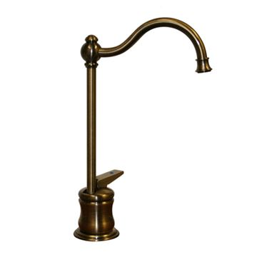 Whitehaus Traditional Drinking Water Faucet With Self Close Handle