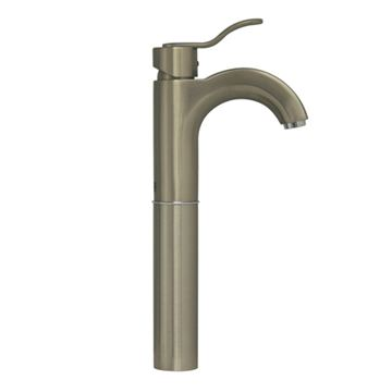 Whitehaus Wavehaus Single Hole Elevated Lavatory Faucet