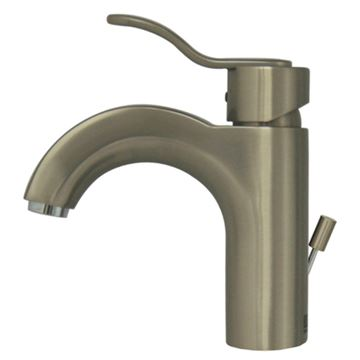 Whitehaus Wavehaus Single Hole Lavatory Faucet With Pop-Up Waste
