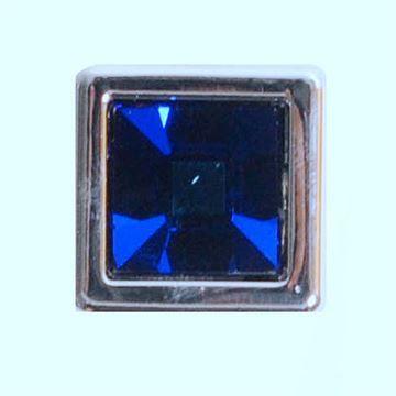 Classic Hardware Blue 1/2 Inch Crystal Knob 101659.32