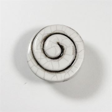 Classic Hardware Crackle Ceramic Spiral Knob 400020.18