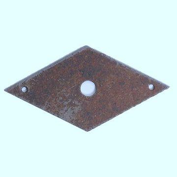 Classic Hardware Rustic Diamond Escutcheon 101833.33