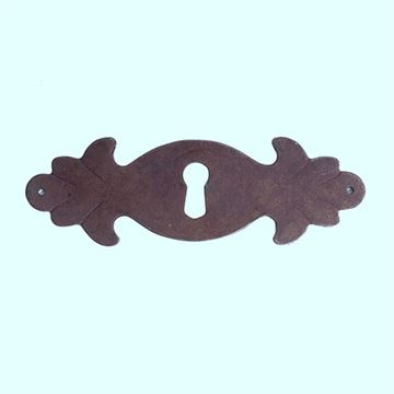 Classic Hardware Rustic Escutcheon With Keyhole 101820.33