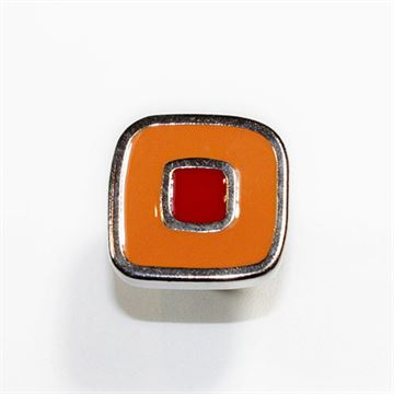 Classic Hardware Sensazioni Knob - Red & Orange 200112.32