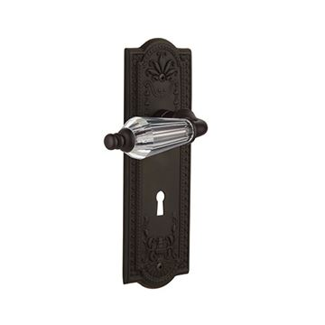 Nostalgic Warehouse Meadows Interior Mortise Door Set - Parlor Levers