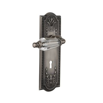 Nostalgic Warehouse Meadows Keyhole Door Set With Parlor Levers