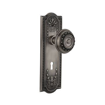Nostalgic Warehouse Mission Interior Mortise Door Set - Meadows Knobs