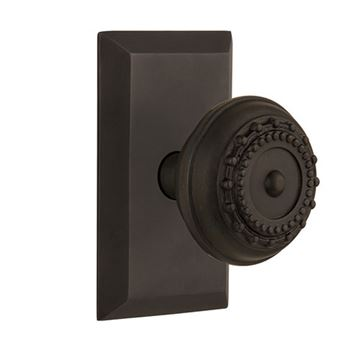 Nostalgic Warehouse Studio Plate Door Set with Meadows Knobs