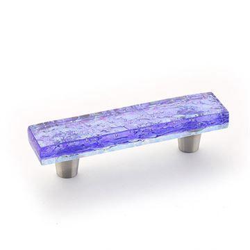 Schaub Ice Blue Pearl Cabinet Pull