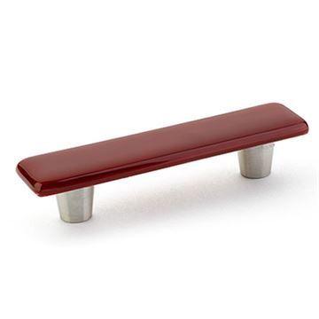 Schaub Ice Scarlet Silk Cabinet Pull