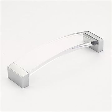 Schaub Positano Clear Arched Cabinet Pull