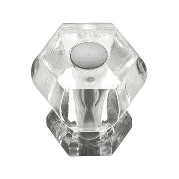 Hickory Hardware Crystal Palace Hex Cabinet Knob