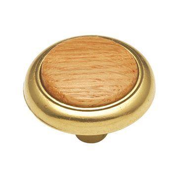 Hickory Hardware Woodgrain 1 1/4 Inch Cabinet Knob
