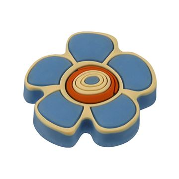 Hickory Hardware Youth Blue Flower Knob