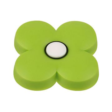 Hickory Hardware Youth Green Flower Knob