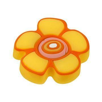 Hickory Hardware Youth Yellow Flower Knob