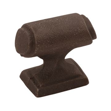 Keeler Raw Iron Cabinet Knob