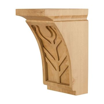 Legacy Heritage 10 Inch Art Nouveau Feather Corbel