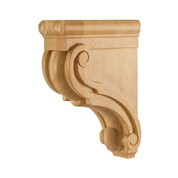 Legacy Heritage 10 Inch Traditional Scroll Bar Bracket Corbel