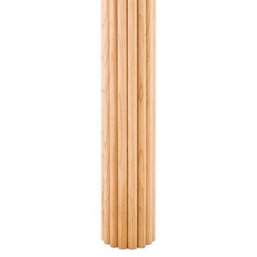 Legacy Heritage 2 Inch Half Round Reed Column Molding