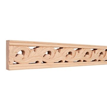 Legacy Heritage 3 1/8 Inch Hand Carved Leaf Molding