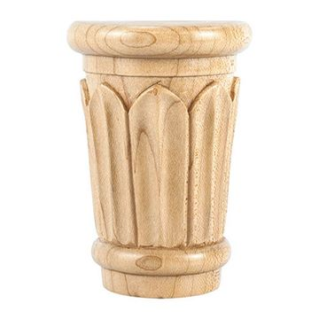 Legacy Heritage 3 5/8 Inch Reed Traditional Capital