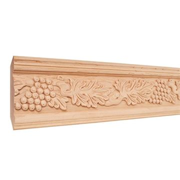 Legacy Heritage 4 3/4 Inch Hand Carved Acanthus & Grape Crown Molding