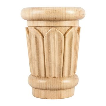 Legacy Heritage 4 3/4 Inch Reed Traditional Capital