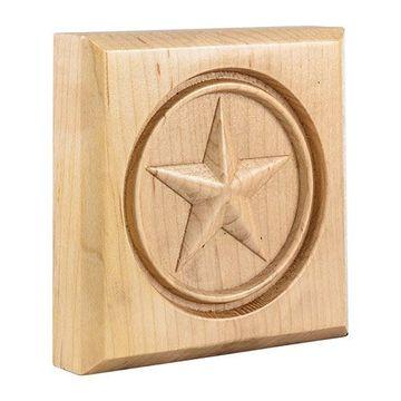 Legacy Heritage 4 Inch Star Corner Trim Block