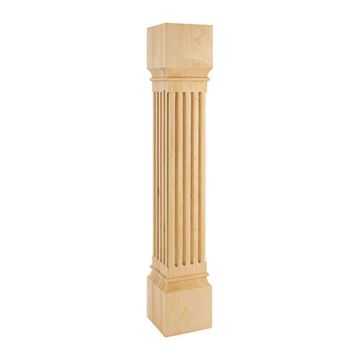 Legacy Heritage 6 Inch Fluted Column Island Leg