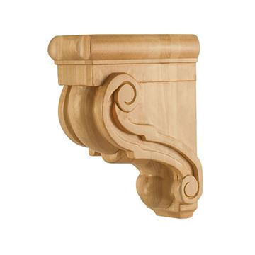 Legacy Heritage 8 Inch Traditional Scroll Bar Bracket Corbel