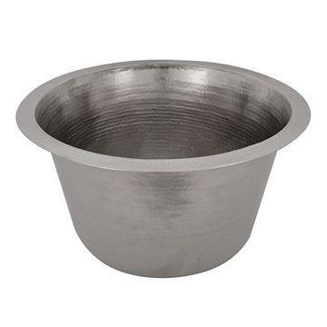 Premier Copper 17 Inch Nickel Salad Bowl Bar Prep Sink