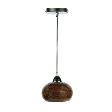 Premier Copper Hand Hammered Globe Pendant Light