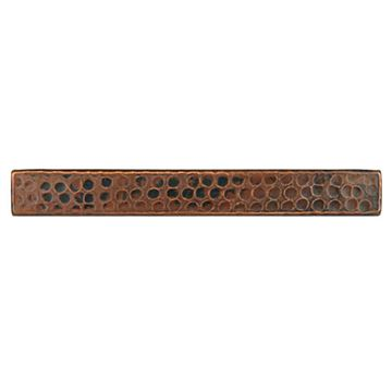 Premier Copper Rectangular Hammered Copper Tile