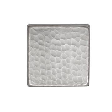 Premier Copper Square Hammered Nickel Plated Tile