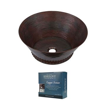 Sinkology Best Copper Vessel Sink Kit