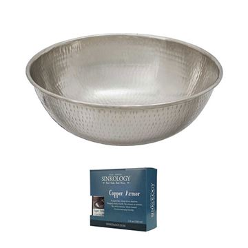 Sinkology Bohr Nickel Vessel Sink Kit