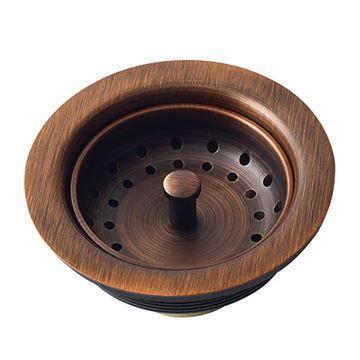 Sinkology Kitchen Sink Basket Strainer Drain