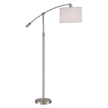 Quoizel Cft9364bn Clift Floor Lamp - Brushed Nickel