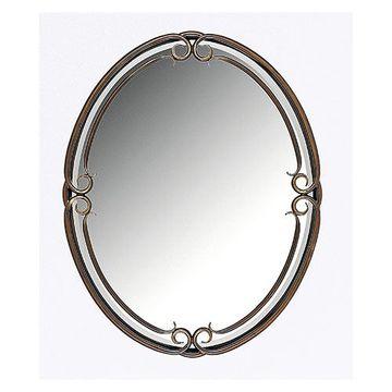 Quoizel Dh43024pn Duchess Small Mirror - Palladian Bronze