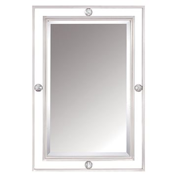 Quoizel DW43222BN Downtown Small Mirror - Brushed Nickel