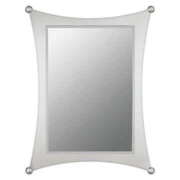 Quoizel JA43225BN Jasper Small Mirror - Brushed Nickel