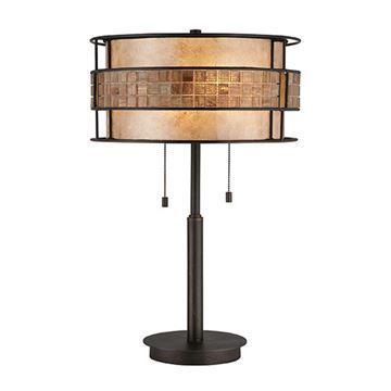 Quoizel Mc842trc Laguna Mica Desk Lamp - Renaissance Copper