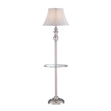 Quoizel Q1055fbn Stockton Floor Lamp - Brushed Nickel