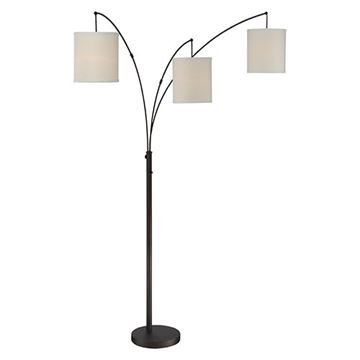 Quoizel Q2605foi Overlook Floor Lamp - Oil Rubbed Bronze