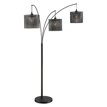 Quoizel Q2606f Stargaze Steel Floor Lamp - Black