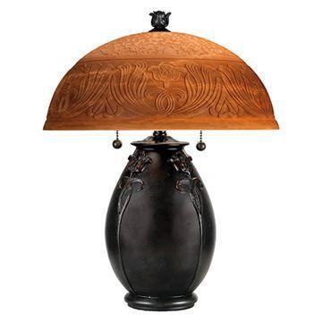 Quoizel Qj6781tr Glenhaven Table Lamp - Teco Rossa